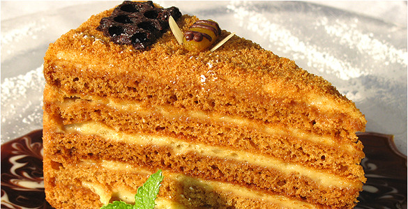 торт медовик рецепт с видео